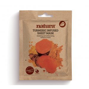 Natura Tumeric Infused Sheet Mask