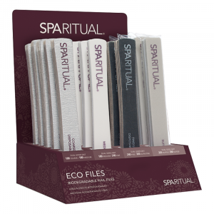 SpaRitual Eco Nail File Retail Display
