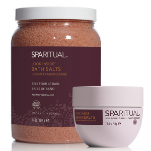 Look Inside Bath Salts