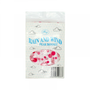 Polka Dot Peaked Rainhood - Assorted Colours