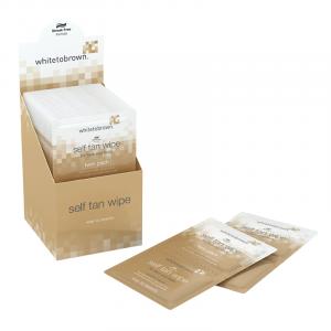 White to Brown Self Tan Wipe Twin Pack