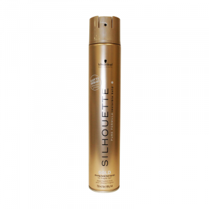 Silhouette Gold Hairspray