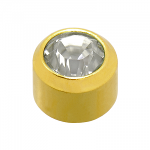 24ct Gold Plated April Birthstone