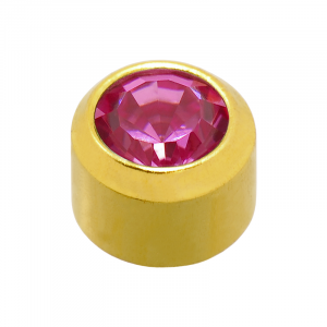 24ct Gold Plated October Birthstone