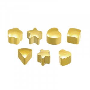 24ct Gold Plated Assorted Shapes