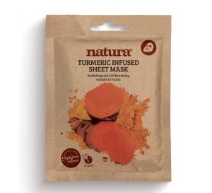 Natura Tumeric Infused Sheet Mask