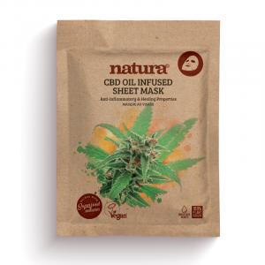 Natura CBD Oil Infused Sheet Mask