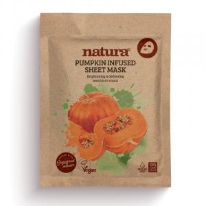 Natura Pumpkin Infused Sheet Mask
