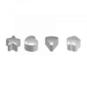 Stainless White Assorted Shapes - Blu System