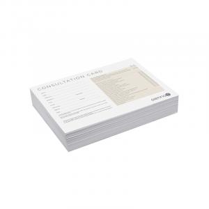 Sienna X Consultation Cards x50