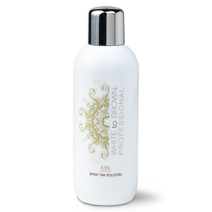 White to Brown 8.5% Spray Tan Professional Solution