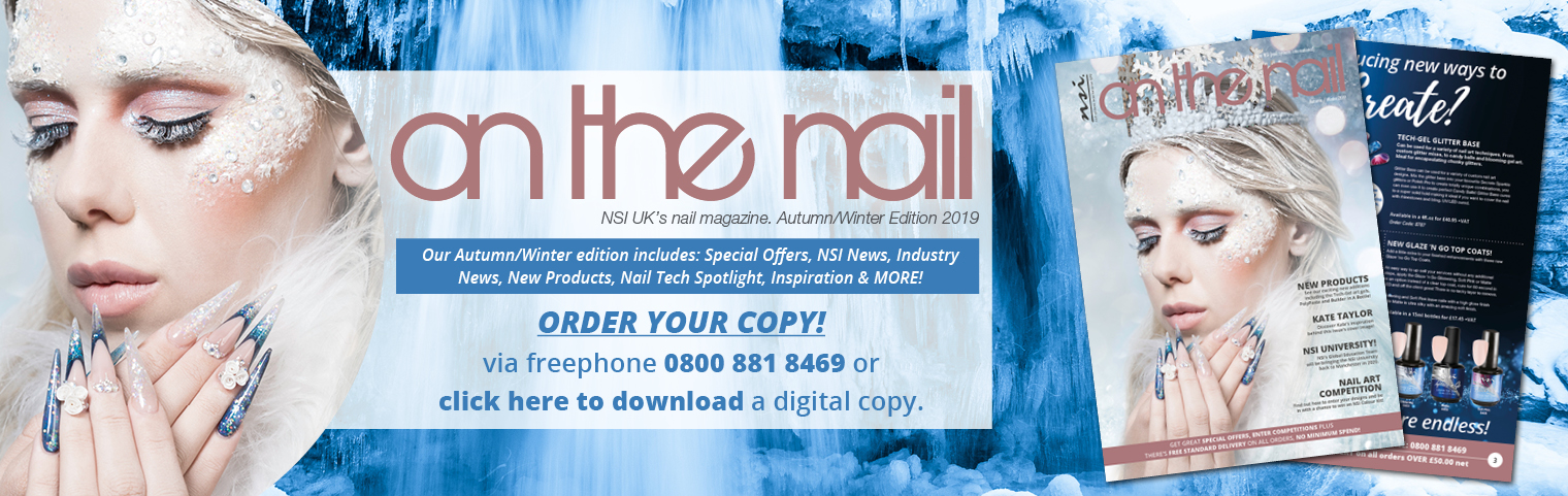 On The Nail Magazine OUT NOW! Order your copy today.